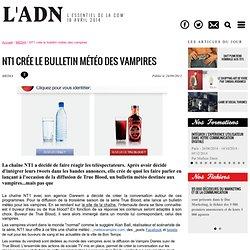 NT1 crée le bulletin météo des vampires - MEDIA