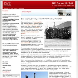 NCI Cancer Bulletin for November 13, 2012