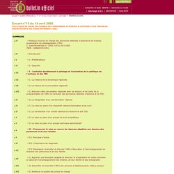 Bulletin officiel n°15 du 14 avril 2005