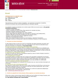 Bulletin officiel n° 15 du 10 avril 2008