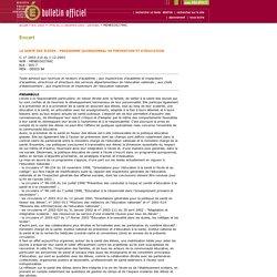Bulletin officiel N°46 du 11 décembre 2003