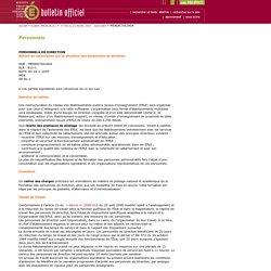 Bulletin officiel n° 8 du 22 février 2007