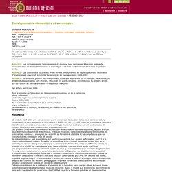 CHAM - Bulletin officiel n° 30 du 27 juillet 2006