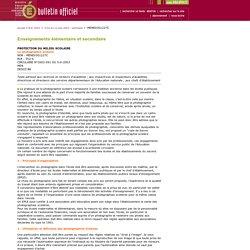 Bulletin officiel du n° 24 du 12 juin 2003 - MENE0301227C