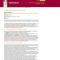 Bulletin officiel n° 40 du 8 novembre 2007
