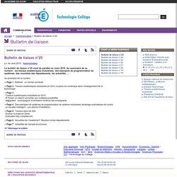 Bulletin de liaison n°25
