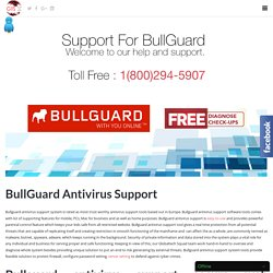 USA Support For Bullguard Antivirus Toll Free:-1-800-294-5907