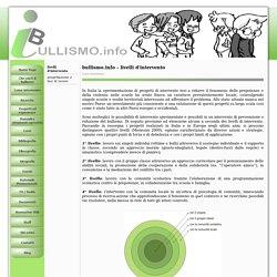 bullismo.info - livelli d'intervento