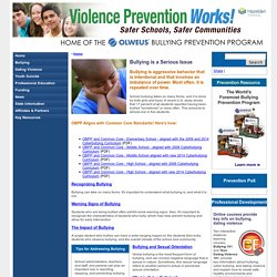 Violence Prevention Works