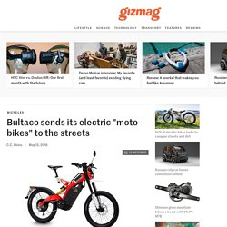 """Bultaco sends its electric """"moto-bikes"""" to the streets"""