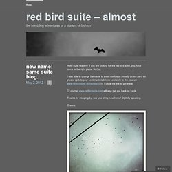 red bird suite