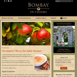 A Bumper Crop of Sweet and Savory Apple Recipes - Bombay Outdoors