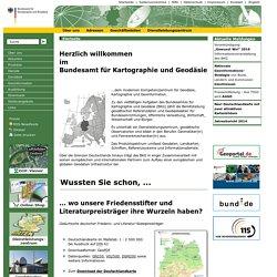 esamt für Kartographie und Geodäsie (BKG) - Geodaten, Karten und Services