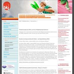 Bundesvereinigung Kulturelle Kinder- und Jugendbildung e.V.: Förderkonzepte der BKJ Mitglieder