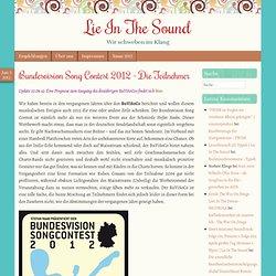 Bundesvision Song Contest 2012 – Die Teilnehmer