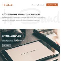 Hip Bundle: Amazing mock-up collection.