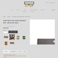 Goat Milk Hot Fudge Bundle 3pk - with Gift Box