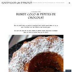 Bundt Coco & Pépites de Chocolat