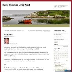 Maine Republic Email Alert