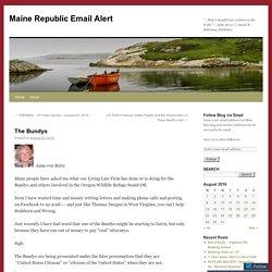Maine Republic Email Alert