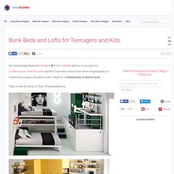 Bunk Beds and Lofts for Kids and Teens' Room