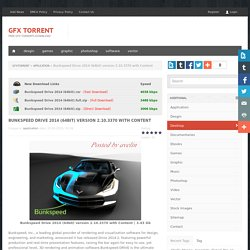 Bunkspeed Drive 2014 (64bit) version 2.10.3370 with Content » Free GFX TorrentS Download