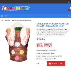 Funny Easter Bunny Pinata