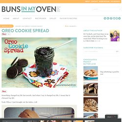Oreo Cookie Spread