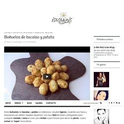 Buñuelos de bacalao y patata - Isasaweis
