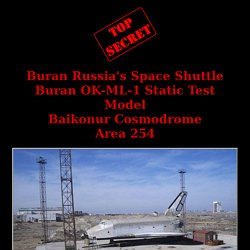 Buran OK-ML-1 Static Test Model