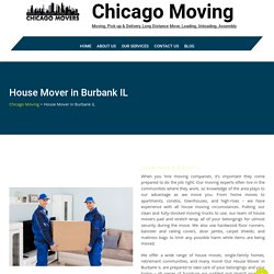 House Mover in Hyde Park IL