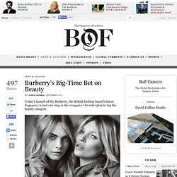 Burberry's Big-Time Bet on Beauty - The Business of Fashion