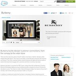 Burberry's Social Enterprise Story - Salesforce
