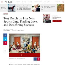 Tory Burch Launches a New Sportswear Line