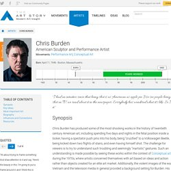 Chris Burden Biography, Art, and Analysis of Works
