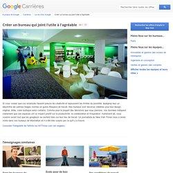 Créer un bureau qui joint l'utile à l'agréable - Google Carrières