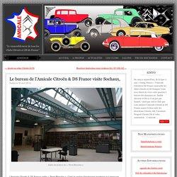 Le bureau de l'Amicale Citroën & DS France visite Sochaux, - Amicale des Clubs Citroën