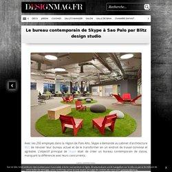 Le bureau contemporain de Skype à Sao Palo par Blitz design studio