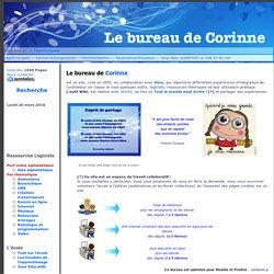 Le bureau de Corinne et Véro:PagePrincipale