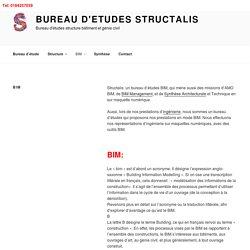 Bureau d'études BIM