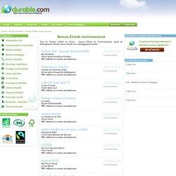 Bureau d'étude environnement - Durable.com