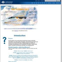 Bureau - Learn About Meteorology