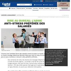 Rire au bureau, l'arme anti-stress préférée des salariés