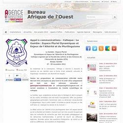 BureauAfrique de l'Ouest - Appels offres