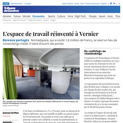 Bureaux partagés : L'espace de travail réinventé à Vernier