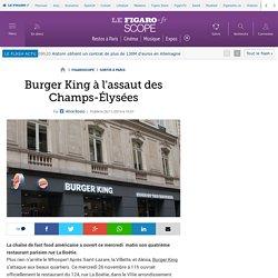 Burger King à l'assaut des Champs-Élysées