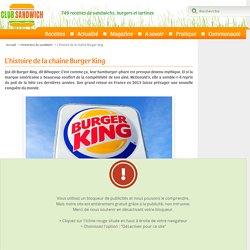 Burger King : historique de l'enseigne de fast-food