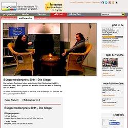 Bürgermedienpreis 2011 - Publikumspreis