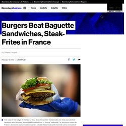 Burgers Beat Baguette Sandwiches, Steak-Frites in France