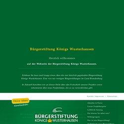 Bürgerstiftung Königs Wusterhausen - Lobby für das Gemeinwohl (Brandenburg, Dahme-Spreewald)